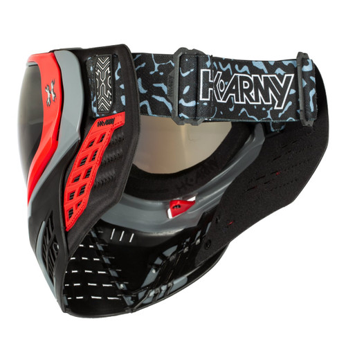 HK - KLR Goggle - Sonic Red