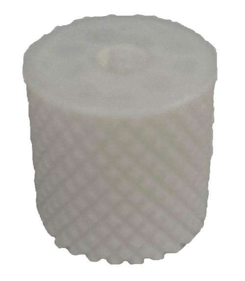 Paintballshop - 3D Print Emek/Etha 2 Knurled Back Cap - Translucent White