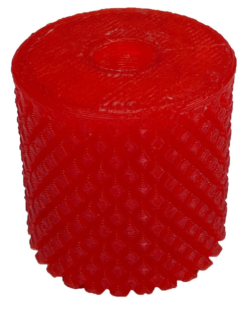 Paintballshop - 3D Print Emek/Etha 2 Knurled Back Cap - Translucent Red