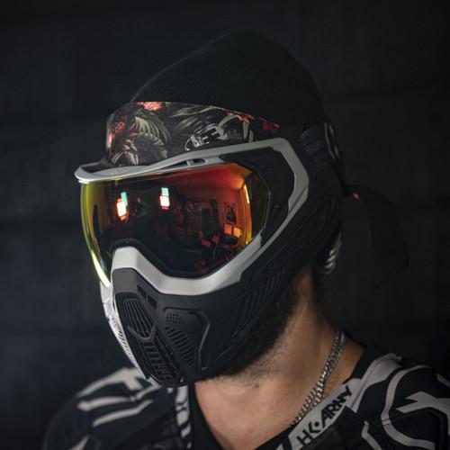 HK - Headband - Tropical Skull