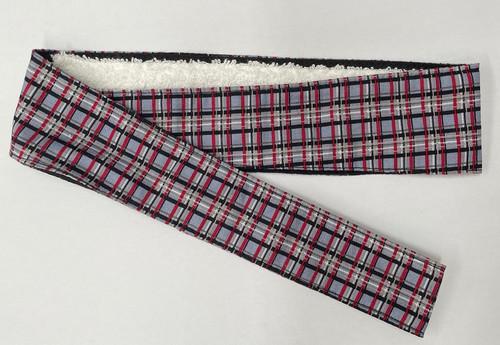 Paintballshop - Headband - Grey/Red/Black Tartan