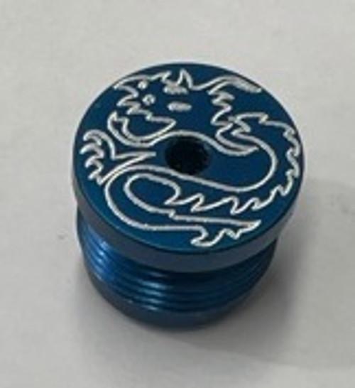 New Designz - Impulse - Hammer Cap - Dragon - Blue