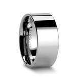 Althaemenes Pipe Cut Tungsten Carbide Ring from Vansweden Jewelers