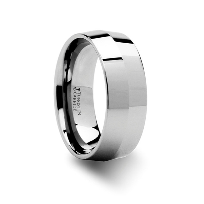 The Eurymedousa Knife Edge Tungsten Carbide Ring from Vansweden Jewelers