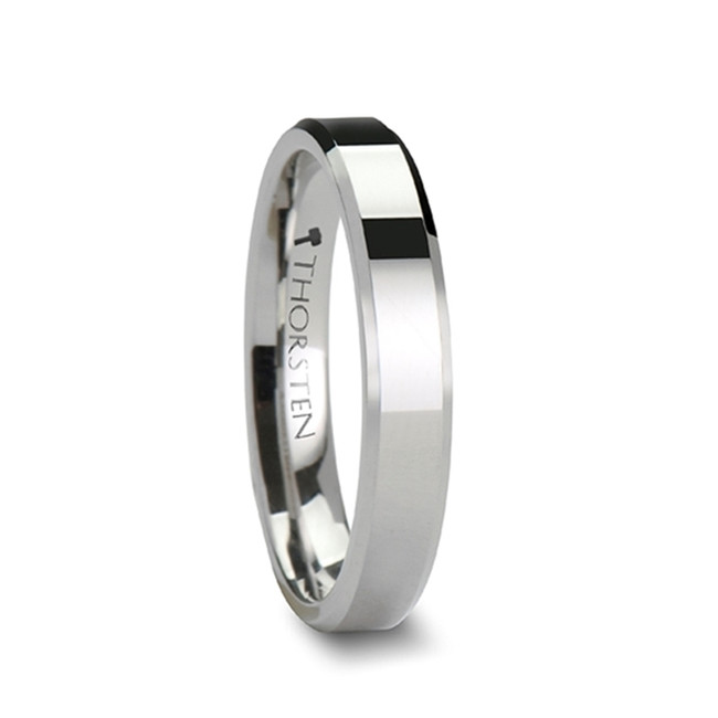 Schedius Cobalt Ring with Beveled Edges and Polished Finish from Vansweden Jewelers