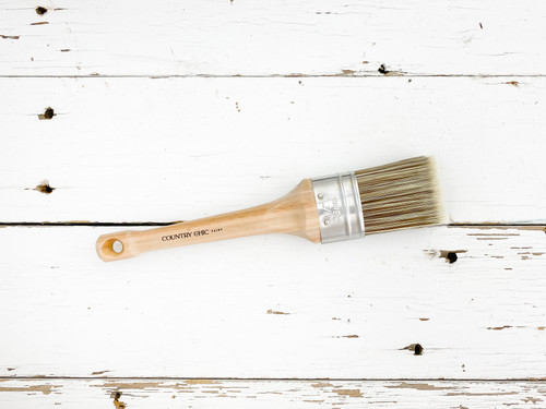 """1.5"""" Country Chic Paint Oval Paint Brush"""