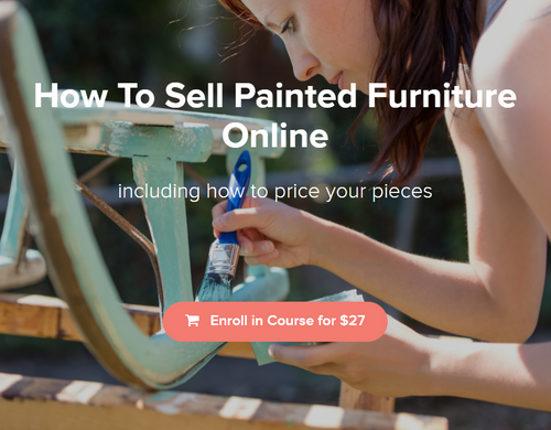 Country Chic Paint's How to Sell Painted Furniture Online course info