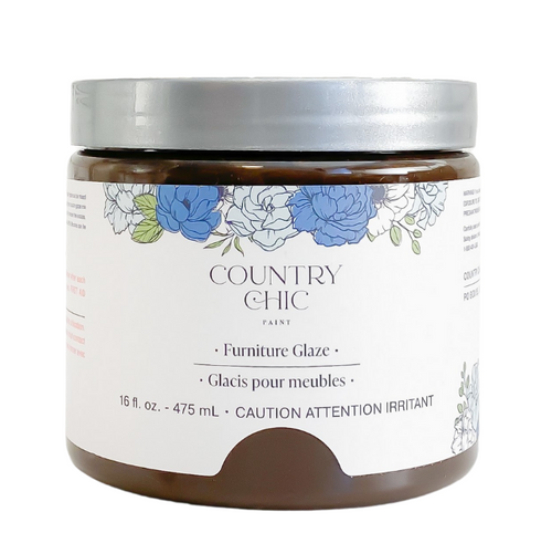 Country Chic Paint Furniture Glaze in the color Smoky Quartz