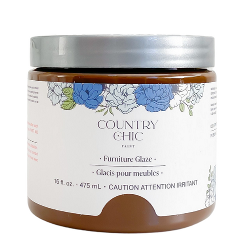 Country Chic Paint Furniture Glaze in the color Tiger's Eye