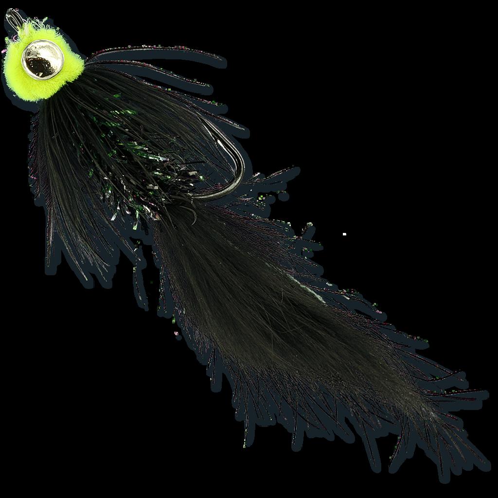 Starlite Leech - Black/Chartreuse