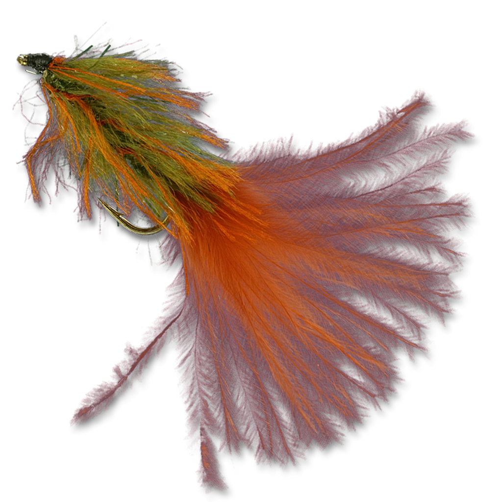 Zack's Stillwater Swimming Leech - Burnt Orange