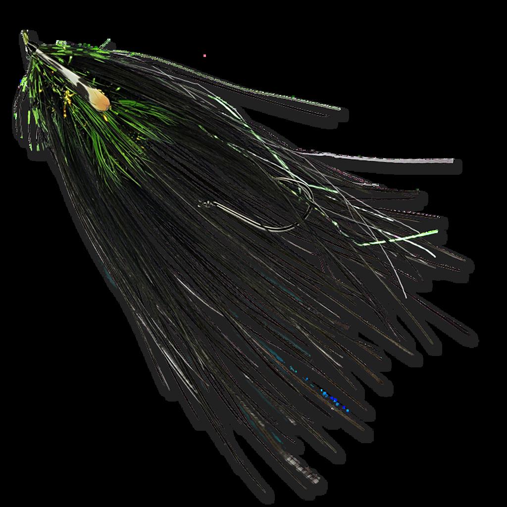 Super Spey Phantom's - Black/Chartreuse #2