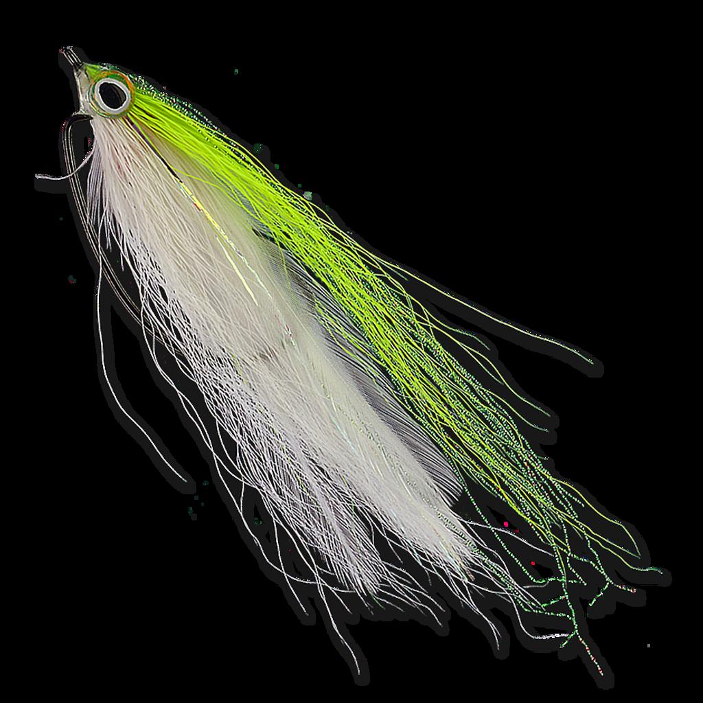 Bush Whacker - Chartreuse/White #2/0
