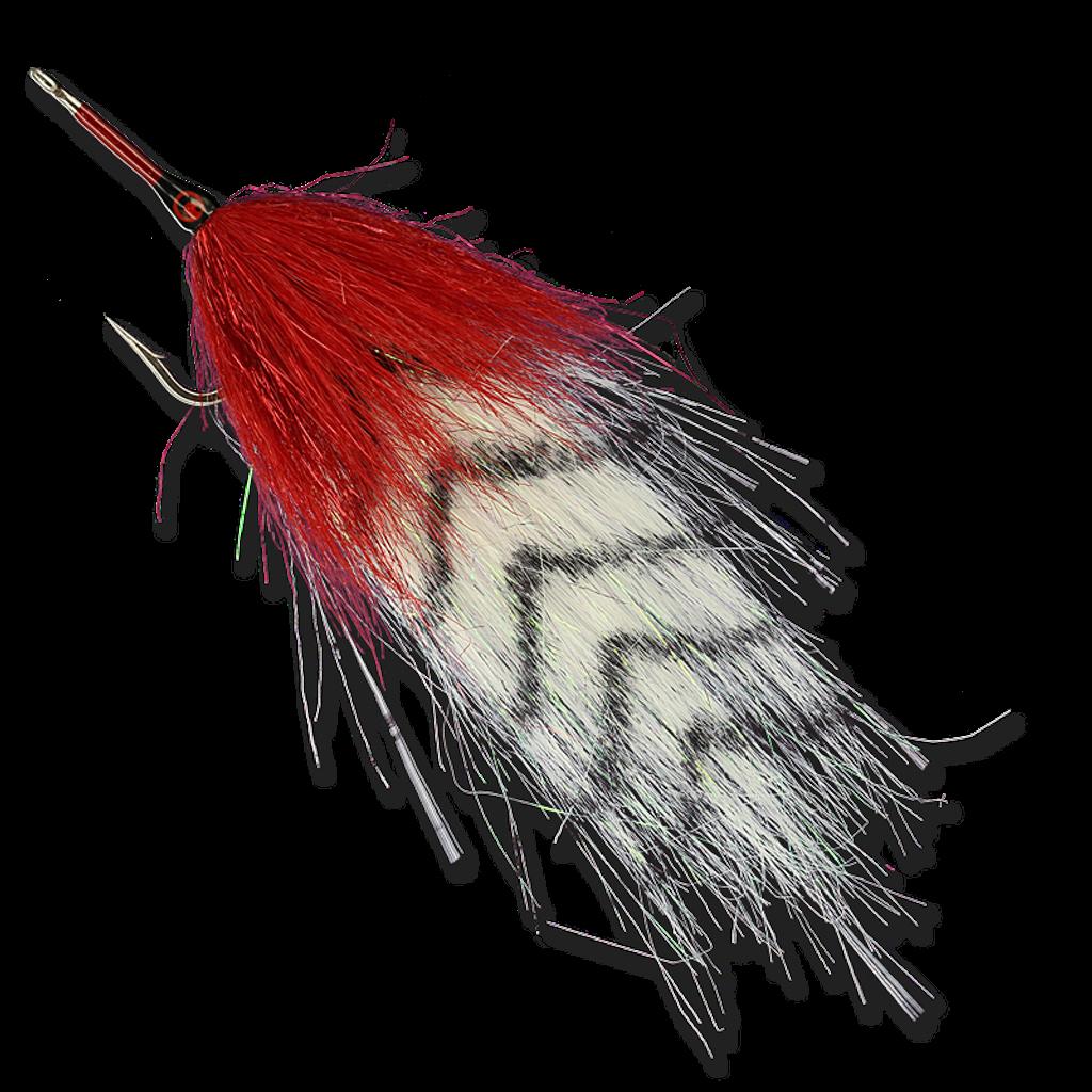 Red and White Tarpon - #3/0
