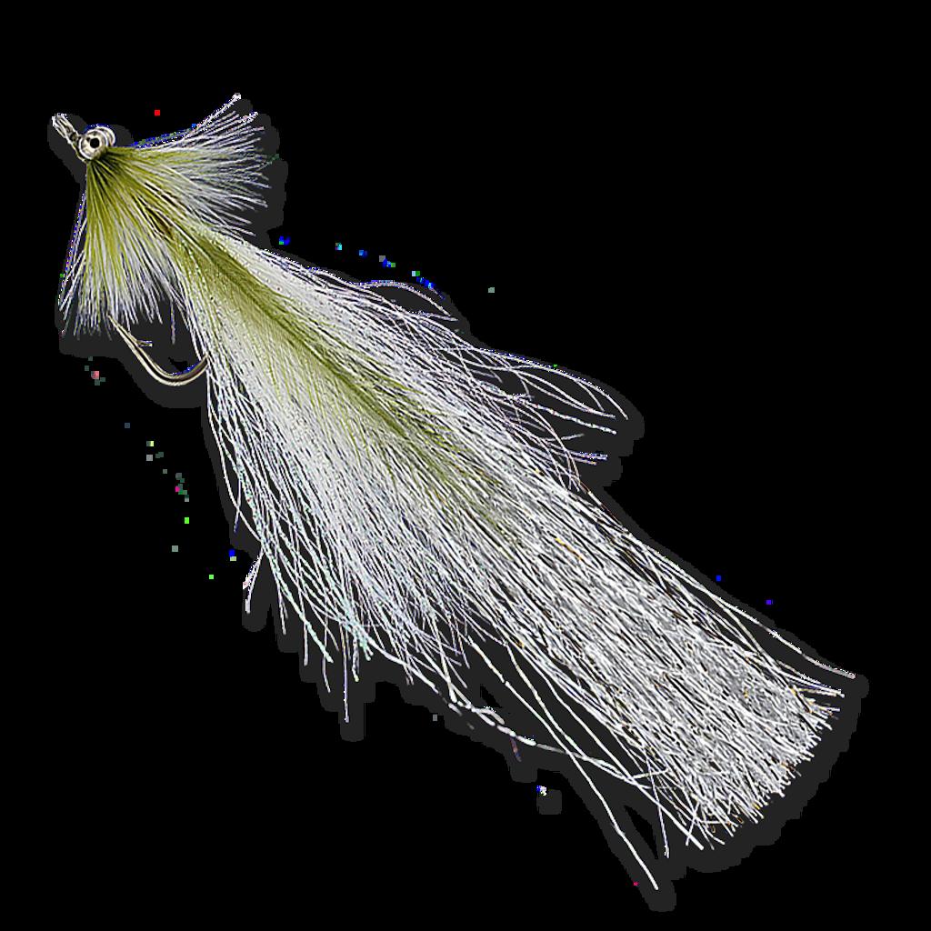 Flashtail Whistlers - Olive/White #3/0