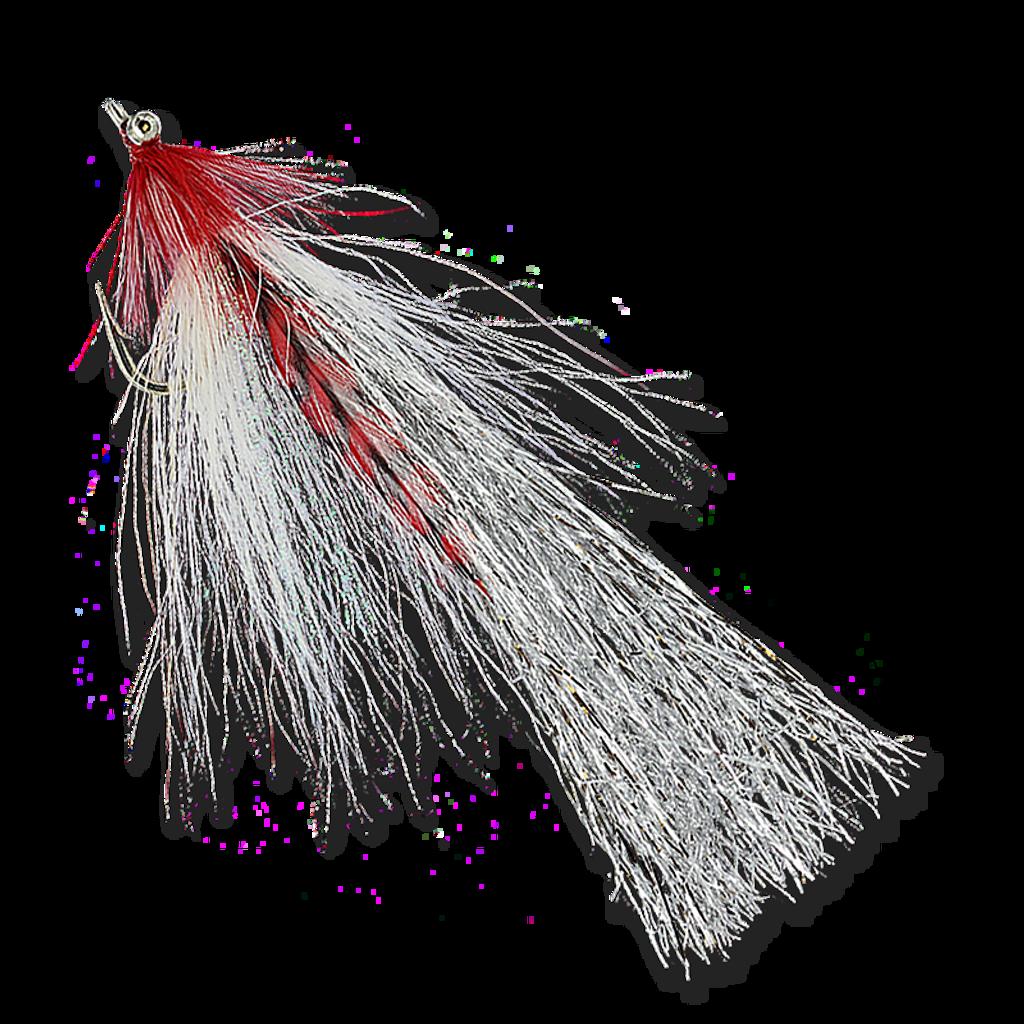 Flashtail Whistlers - Red/White #3/0