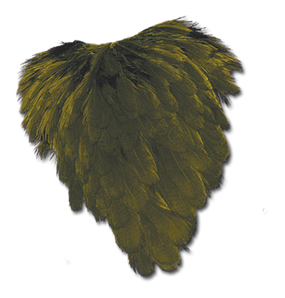 Hen Back - Olive