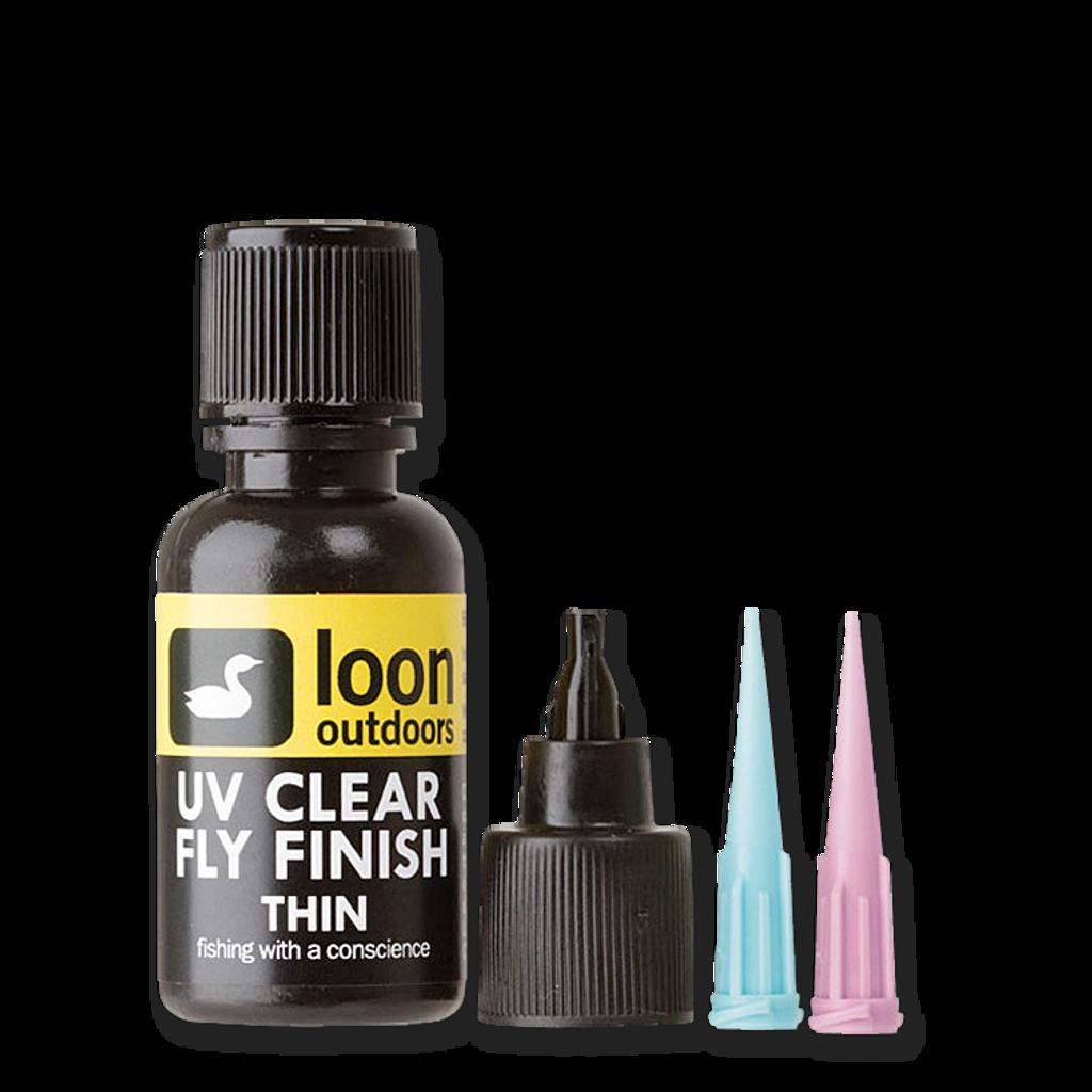 Loon UV Clear Thin Fly Finish - 1/2 ounce