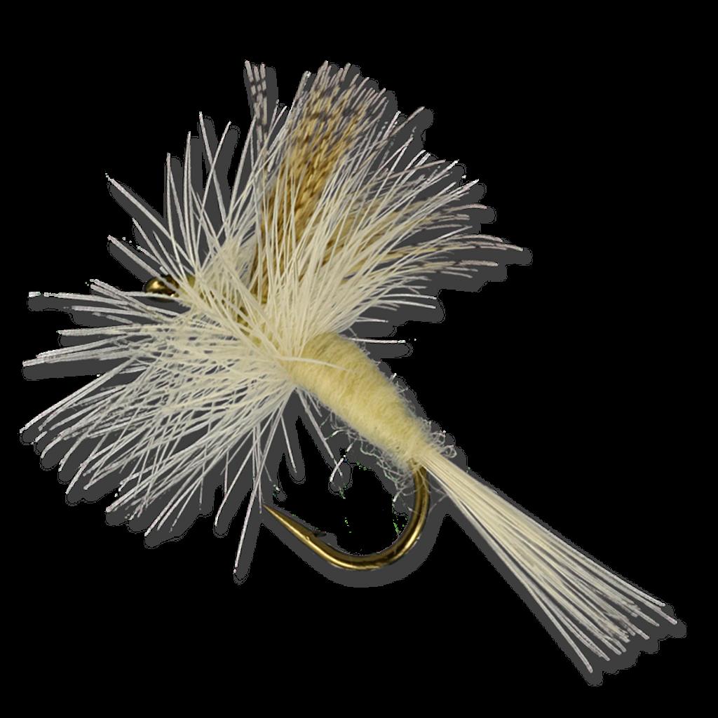 Mallard Dyed Wood Duck (Light Cahill fly shown)