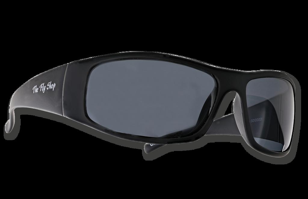 "TFS Polarized ""Bluefin"" Sunglasses - Matte Black/Gray"