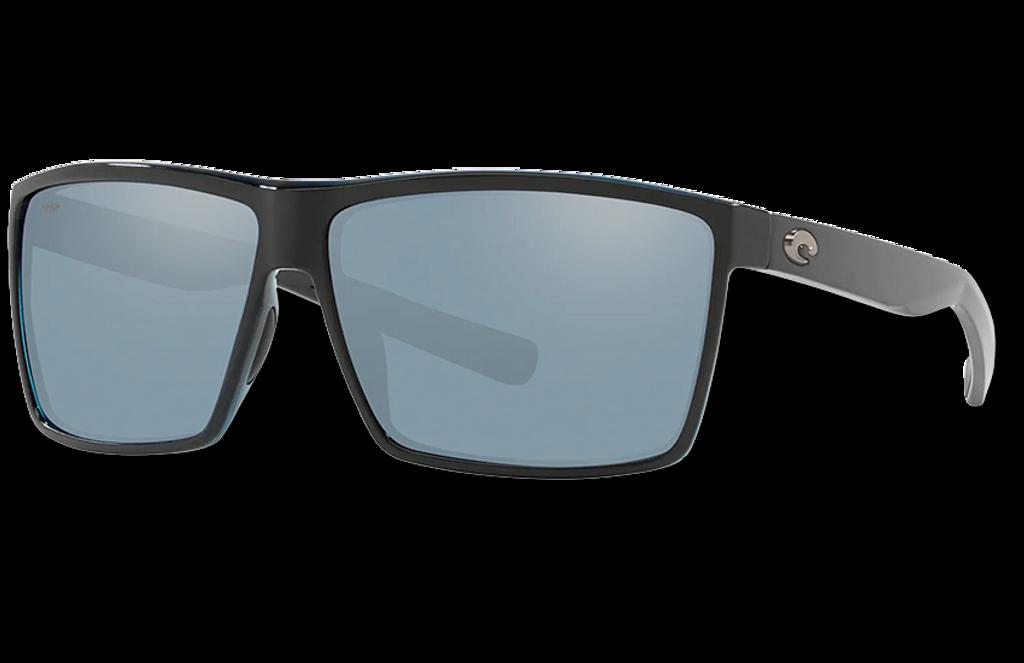 Rincon Polarized 580 Sunglasses - Shiny Black/Gray Silver Polycarbonate