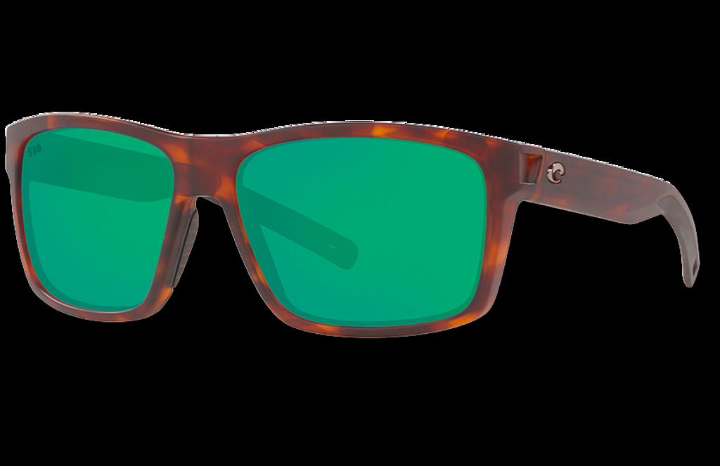 Slack Tide Polarized Glass 580 Sunglasses - Matte Tortoise/Green Lightwave Glass