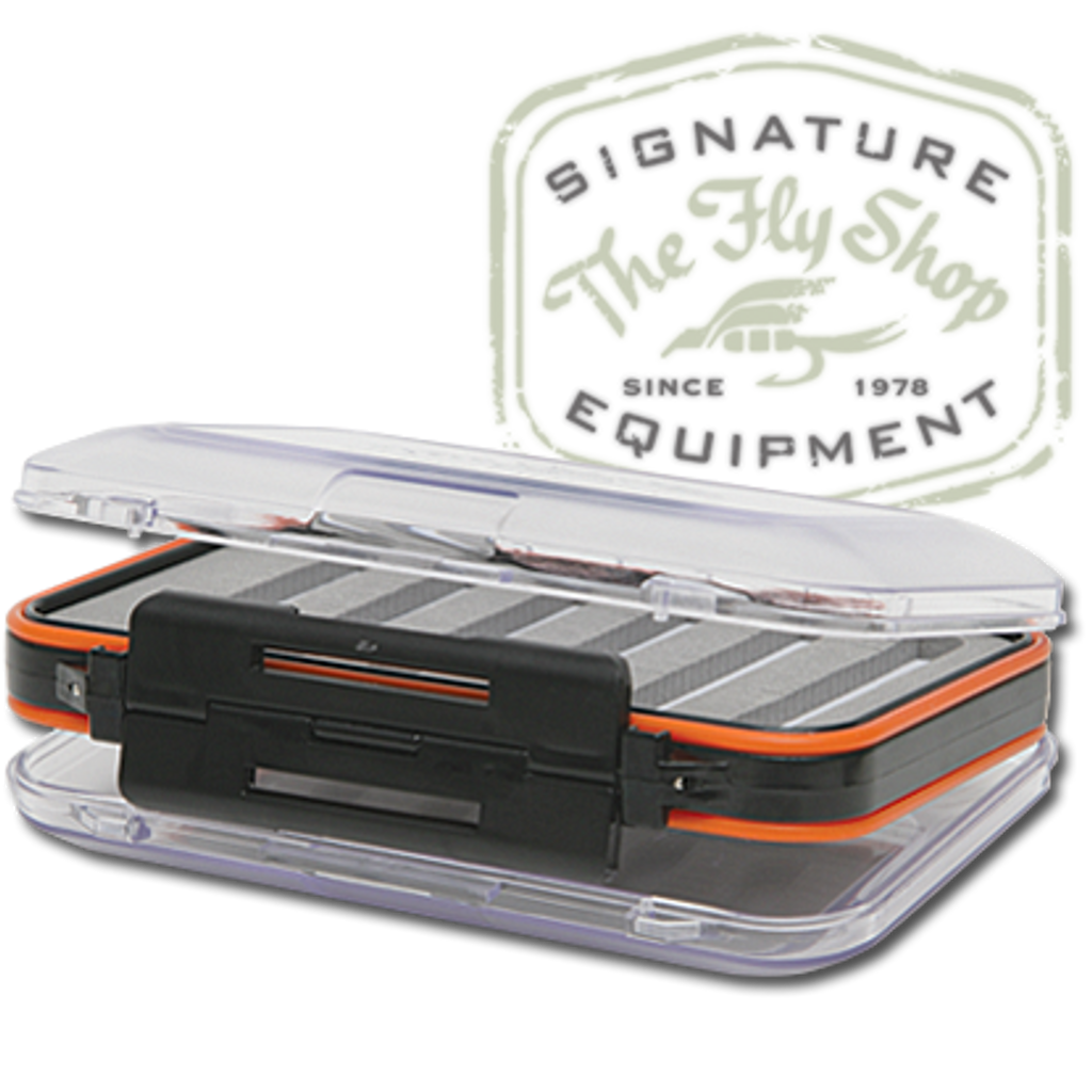 The Fly Shop's Signature Double-Sided Waterproof Fly Boxes