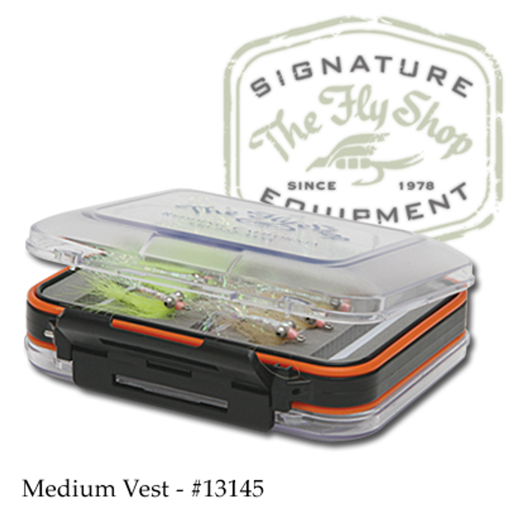 The Fly Shop's Signature Double-Sided Waterproof Fly Box - Medium