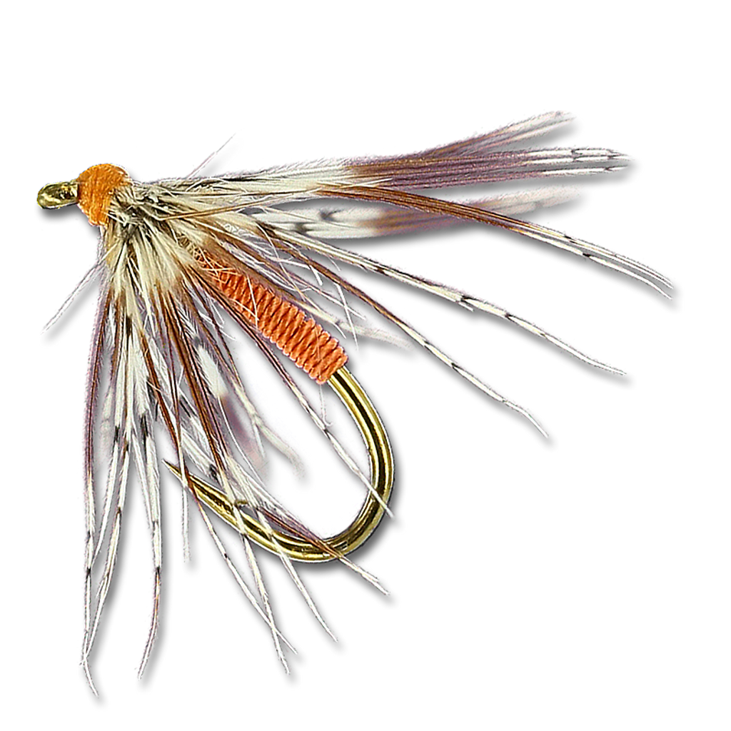 Soft Hackle - Orange #14