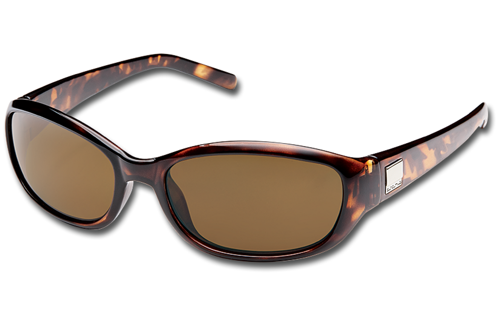 Suncloud Iris Polarized Sunglasses - Brown Tortoise/Polar Brown