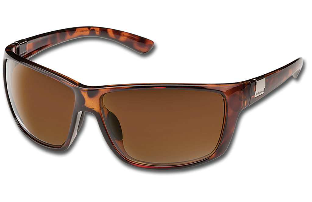 Suncloud Councilman Polarized Sunglasses - Tortoise/Polar Brown
