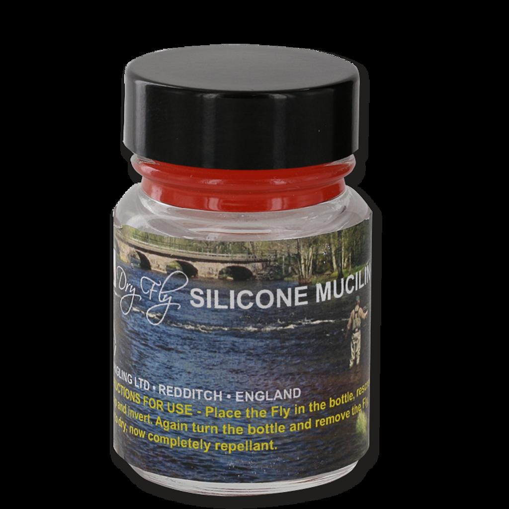 Mucilin Hourglass Silicone (Dry Fly Silicone Mucilin)