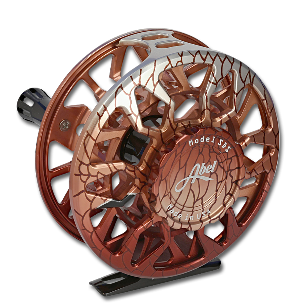 Abel SDS Fly Reel - Redfish (back)