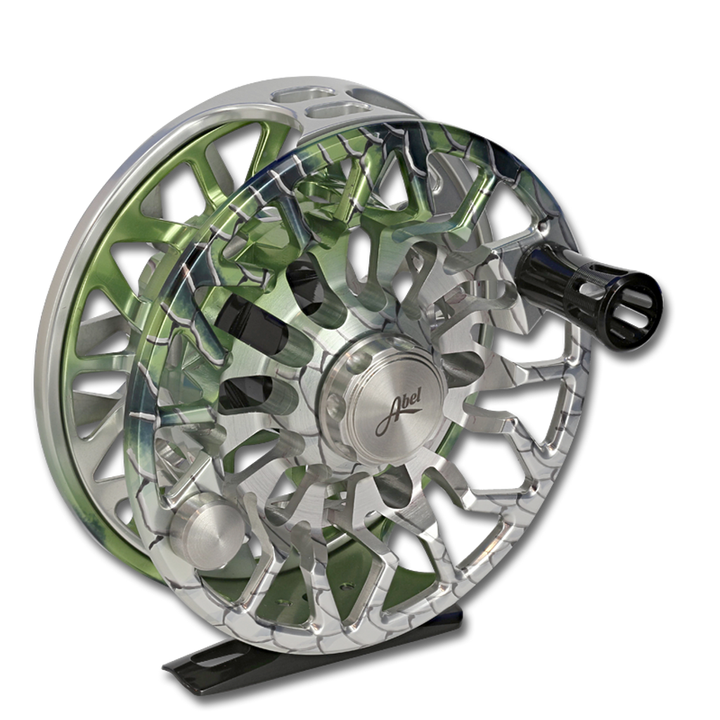 Abel SDS Fly Reel - Bonefish (front)