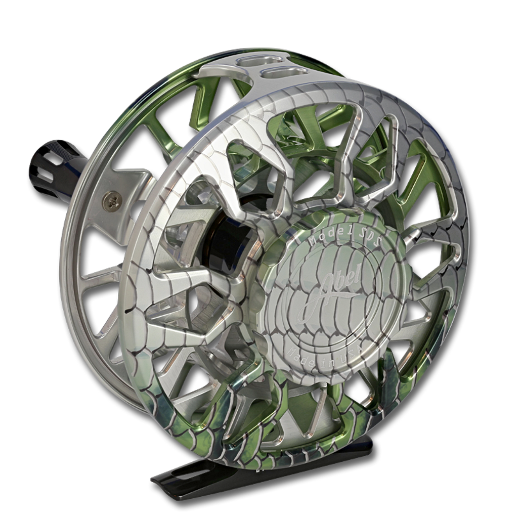 Abel SDS Fly Reel - Bonefish (back)