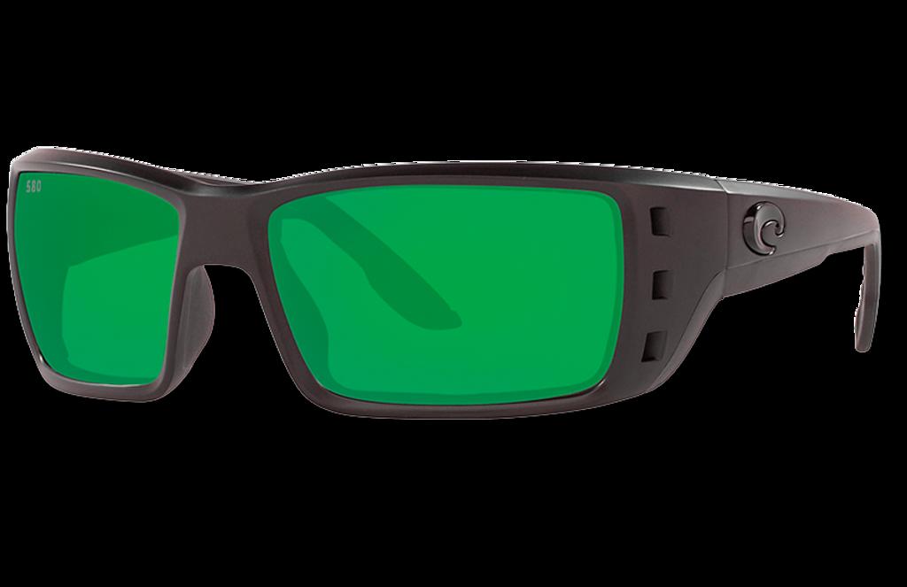 Permit Polarized Glass 580 Sunglasses - Blackout/Green Lightwave Glass