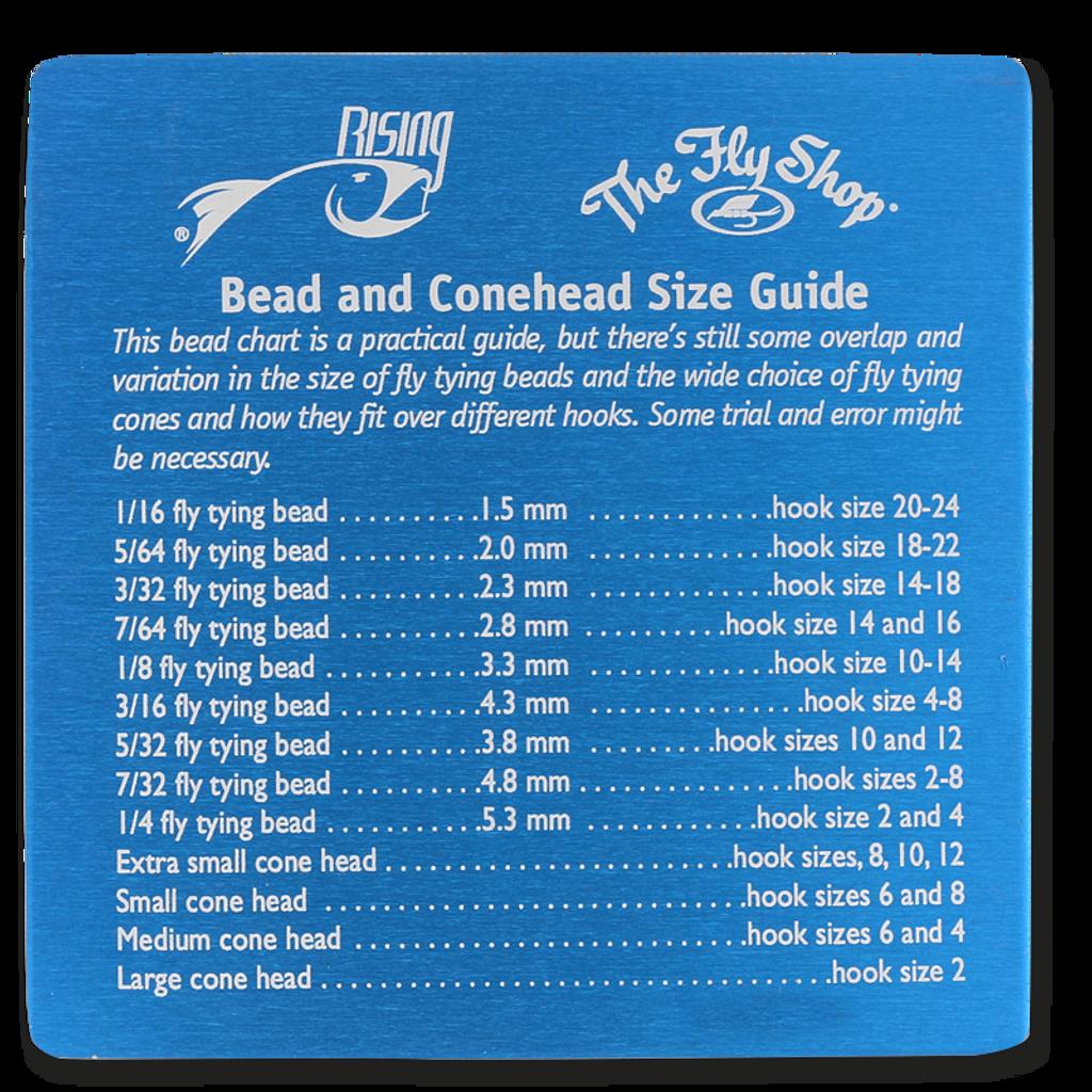 Rising Bead Chart Coaster - Blue