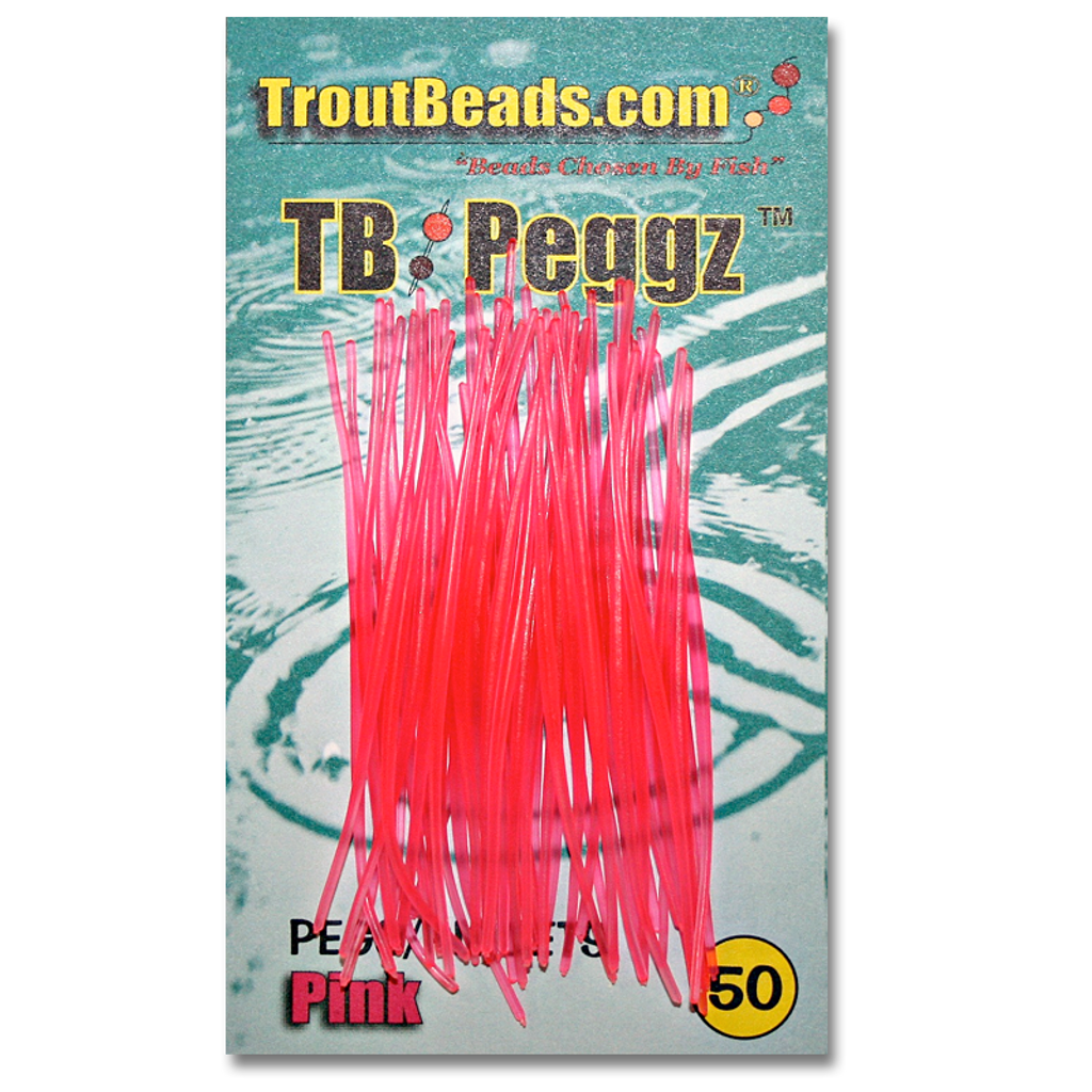 TB (Trout Beads) Peggz - Pink