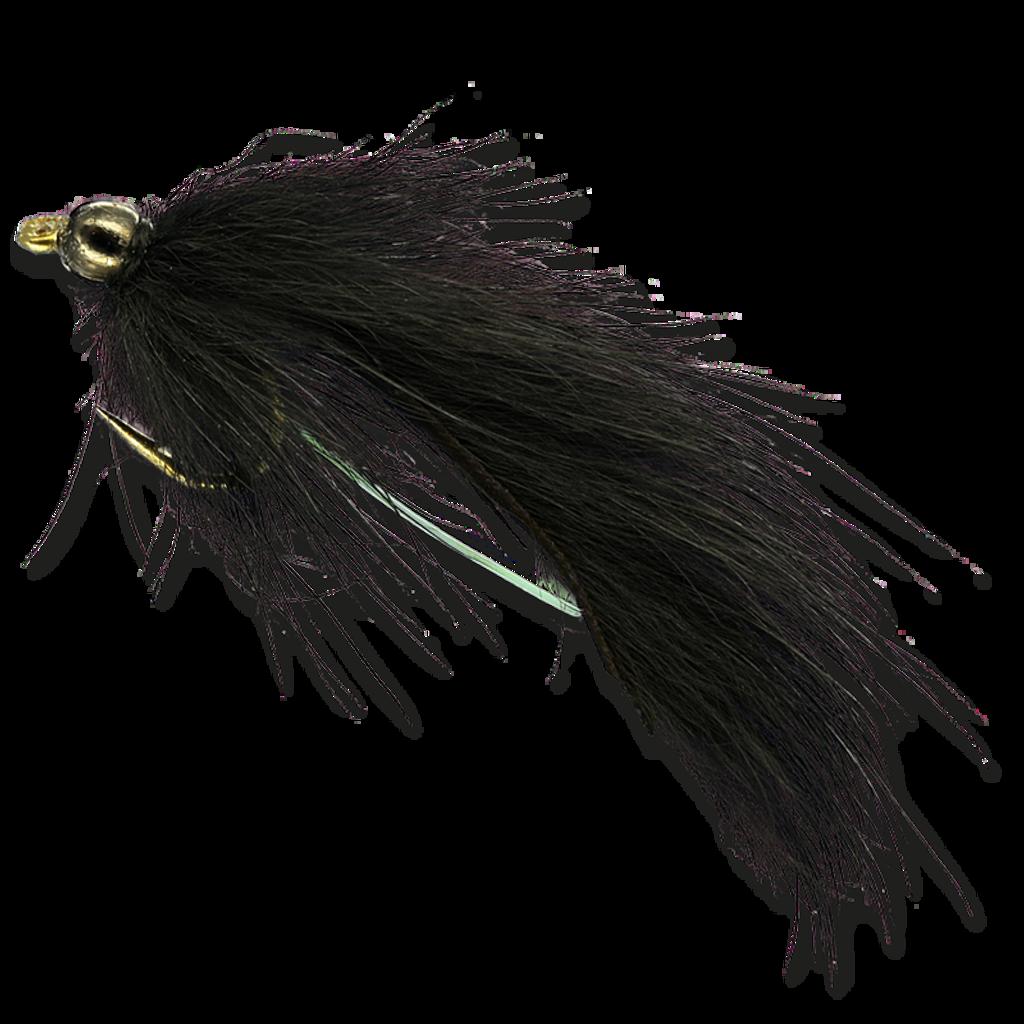 Pine Squirrel Leech - Black
