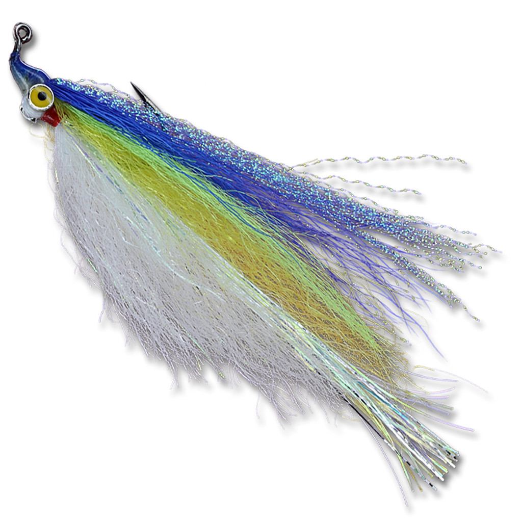 Flashtail Minnow - Yellow/Chartreuse/Blue