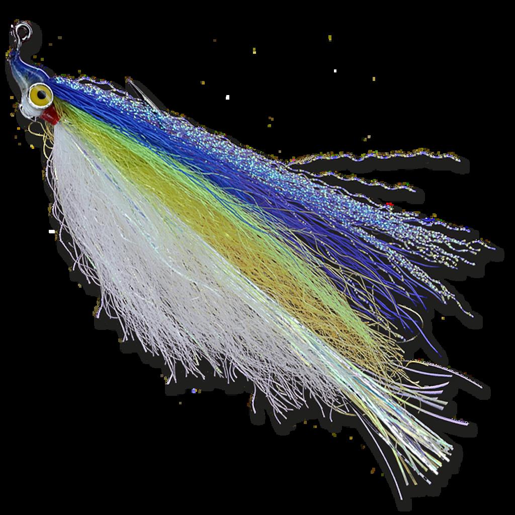 Flashtail Minnow - Yellow/Chartreuse/Blue