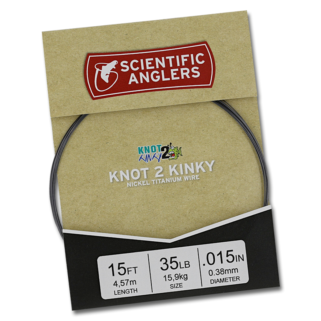 Scientic Anglers Knot-2-Kinky Wire