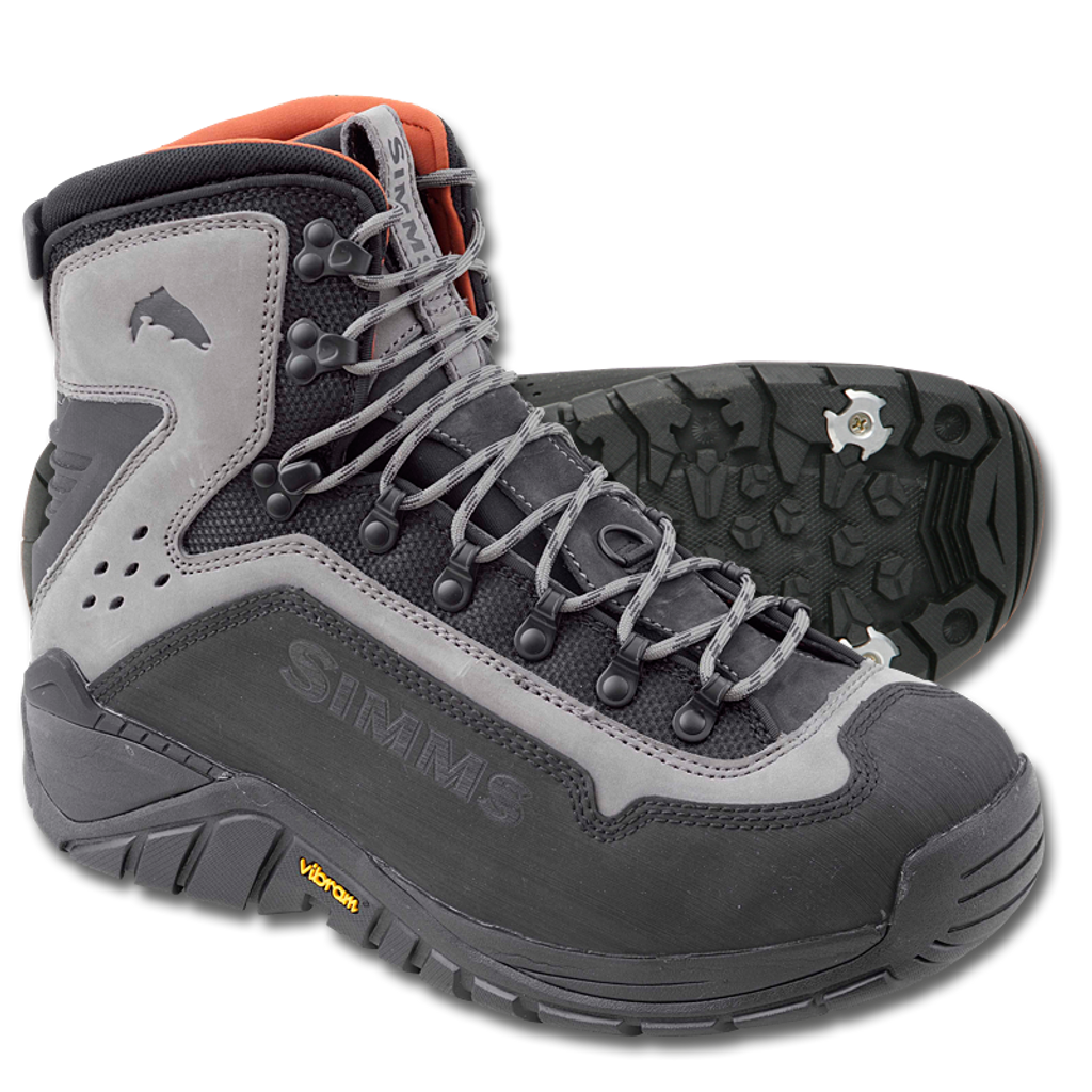 Simms G3 Guide Boots - Vibram Sole
