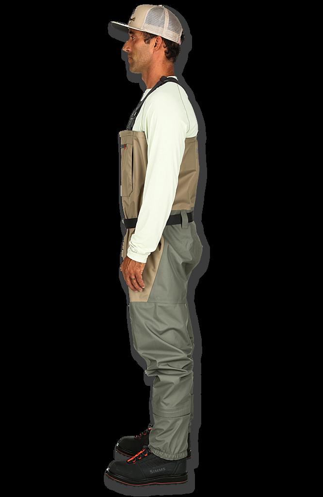 Simms Men's Tributary Stockingfoot Wader - Tan