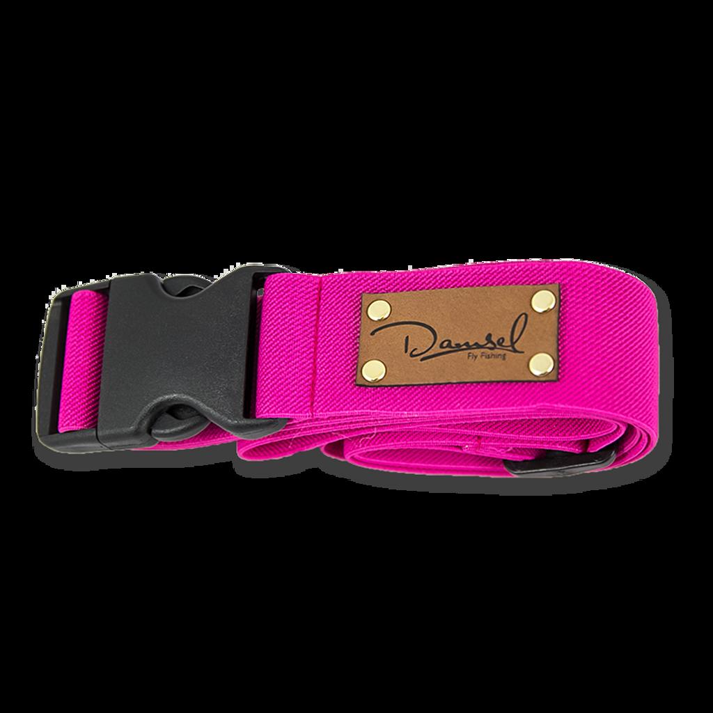 Damsel Fly Fishing Wading Belt - Hot Pink