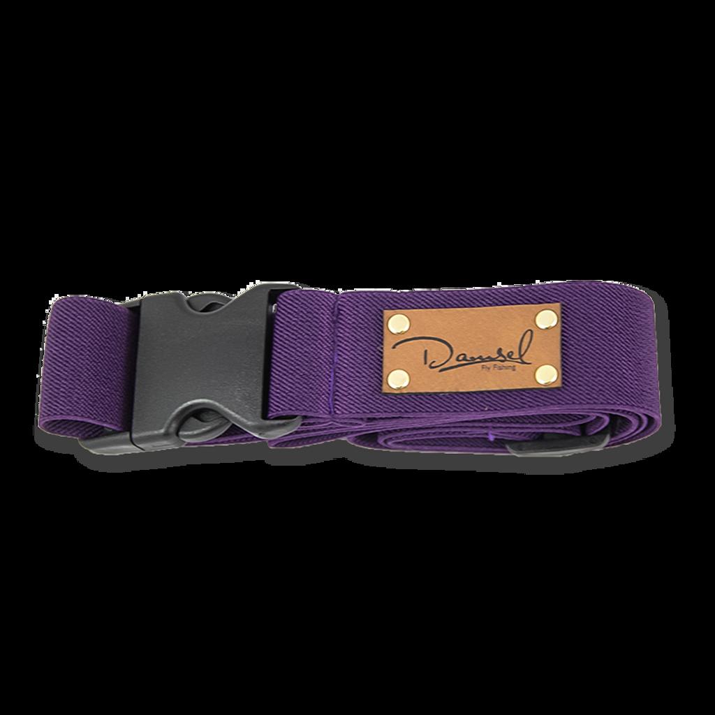 Damsel Fly Fishing Wading Belt - Purple (Plum)