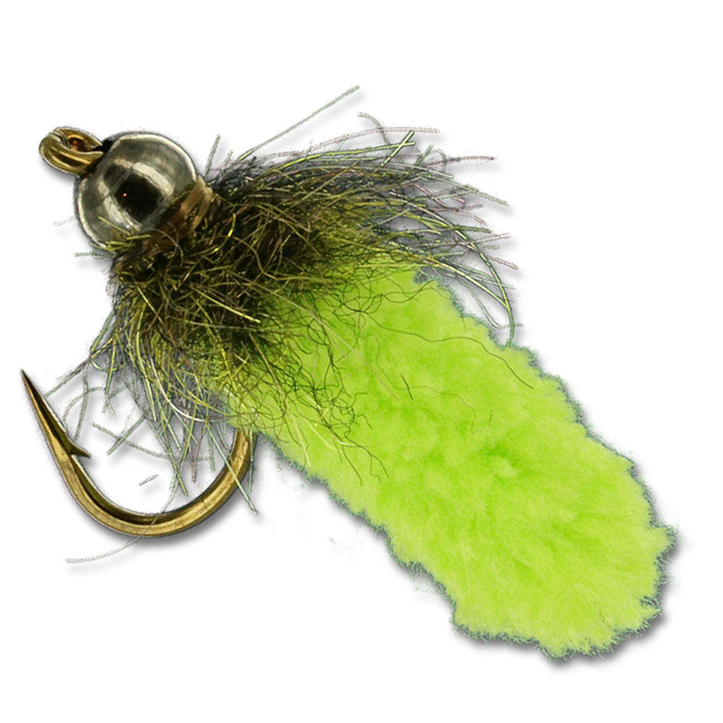 Mop Fly - Chartreuse #10