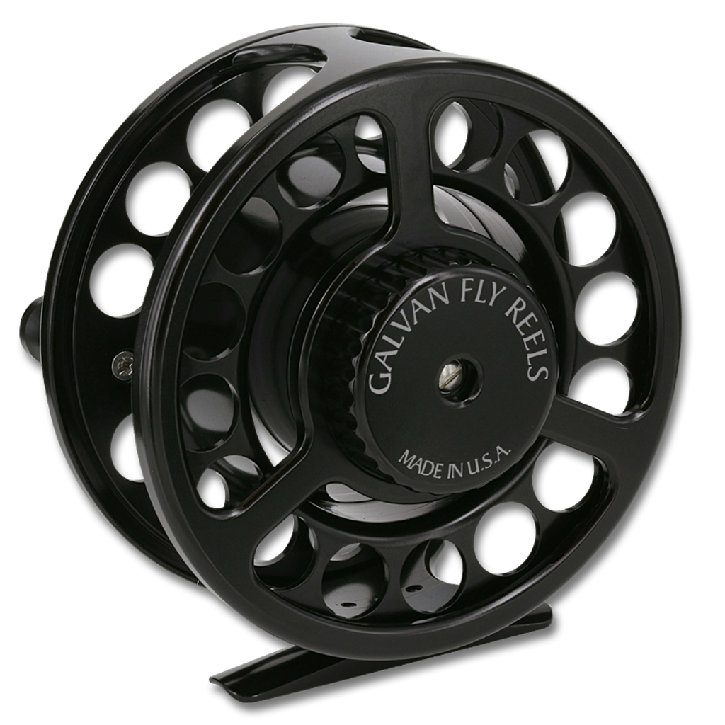 Galvan Rush LT Fly Reel - Black (Back)