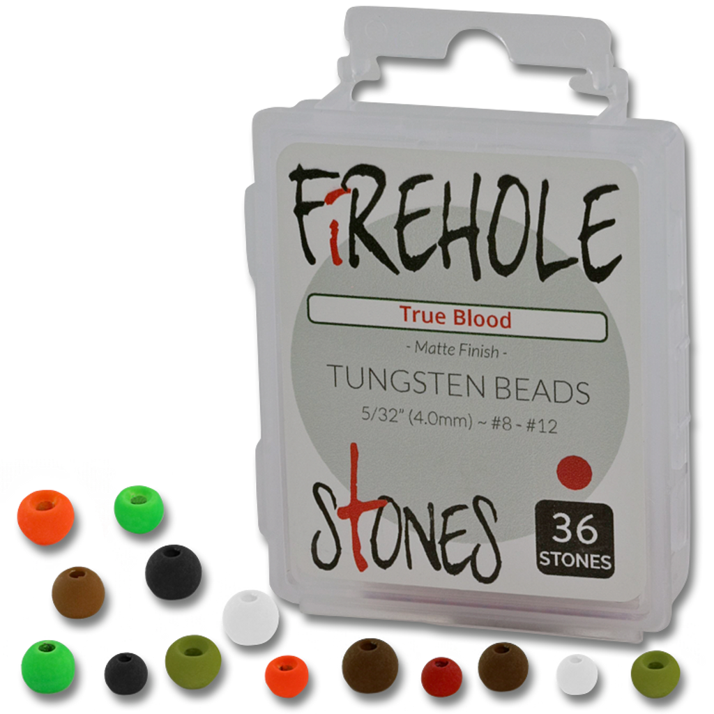Firehole Stones (Tungsten Beads)