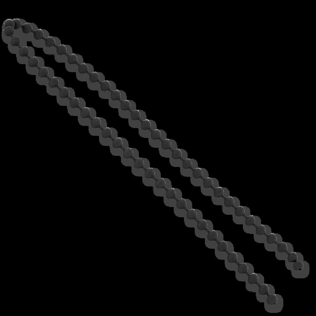 Chicone Stealth Bead Chain - Black